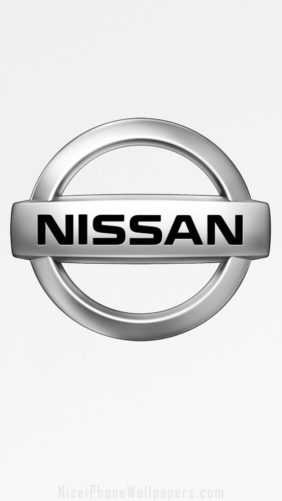 nissan-silver-chrome-logo-white-PIC-MCH091039-577x1024 Nissan Logo Wallpaper For Iphone 30+