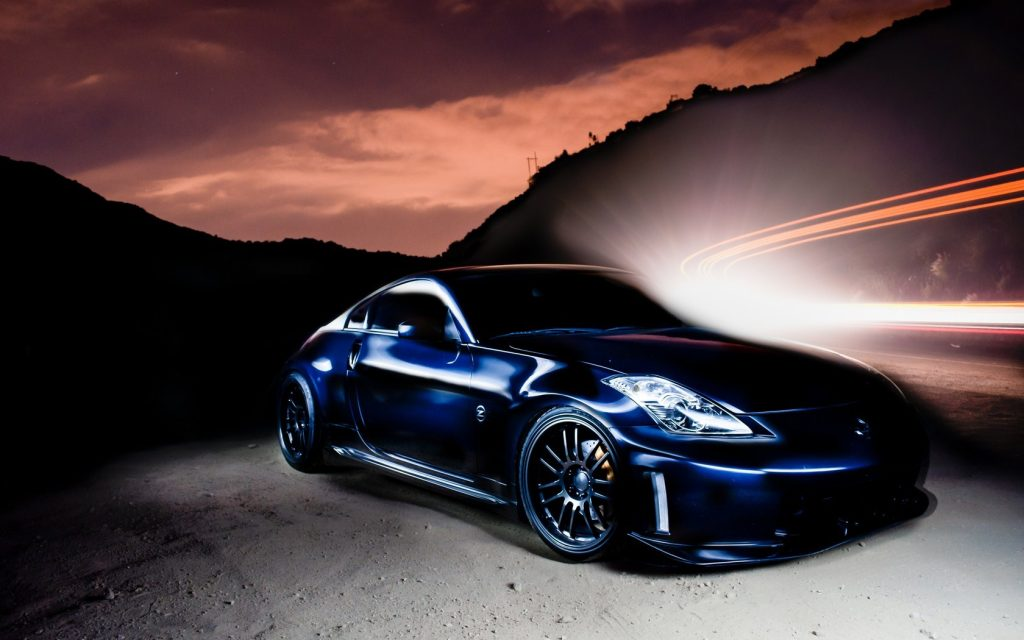 nissan-z-tuning-lights-wallpaper-PIC-MCH090898-1024x640 Nissan 350z Logo Wallpaper 39+