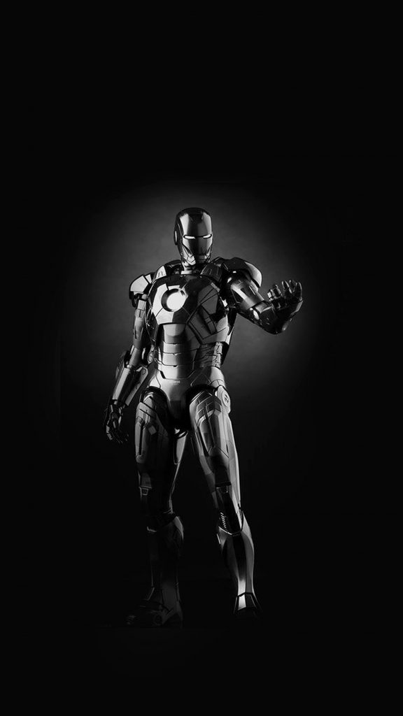 papers.co-am-ironman-dark-figure-hero-art-avengers-bw-iphone-wallpaper-PIC-MCH093220-576x1024 Iron Man Wallpaper For Iphone 6 28+