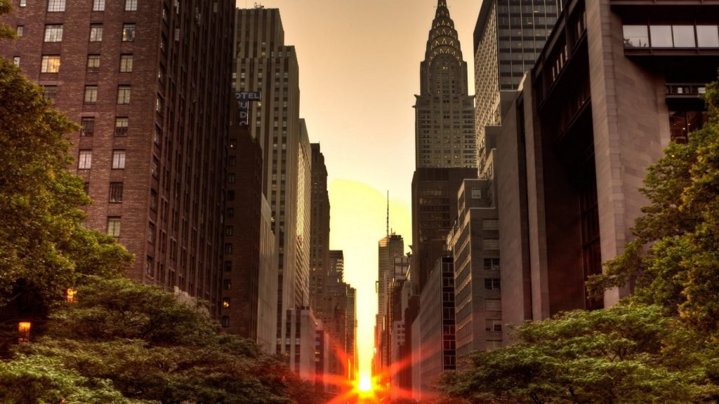 sunset-skyscrapers-manhattan-york-new-trees-nyc-city-usa-water-wallpaper-PIC-MCH0104860-1024x576 Usa Wallpapers Free 46+