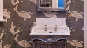 Whimsical Wallpaper Bathroom 15+