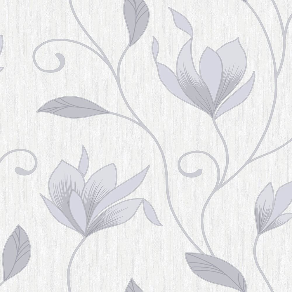 vymura-synergy-glitter-floral-wallpaper-dove-grey-white-silver-m-p-image-PIC-MCH0110763 Wallpaper Grey Silver 15+