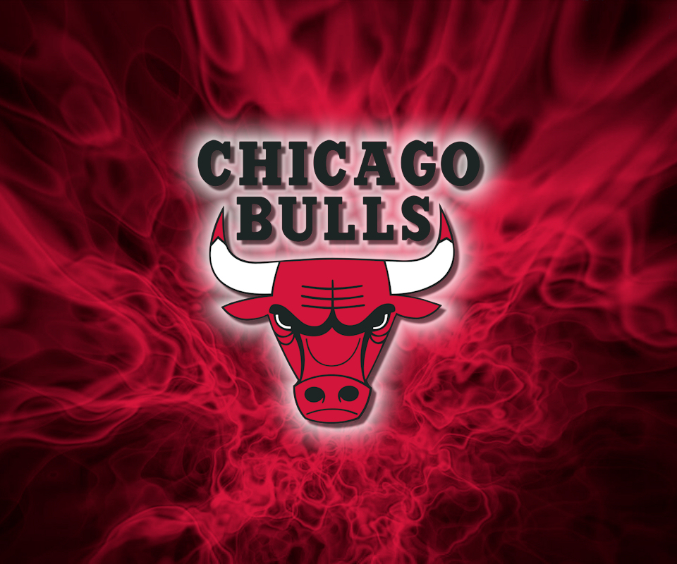 ChicagoBullsColorFlames-PIC-MCH052420 Bull Wallpaper For Android 29+