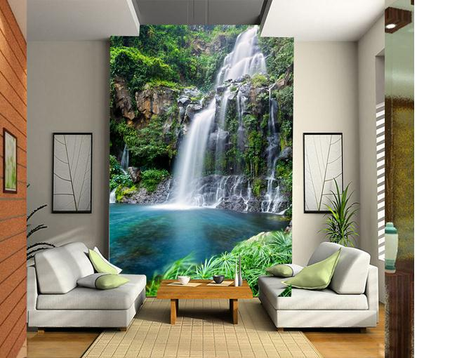 Customize-size-High-Quickly-HD-mural-d-wallpaper-waterfall-wall-paper-papel-de-parede-wholesale-pr-PIC-MCH055268 Paper Wallpaper Price 31+