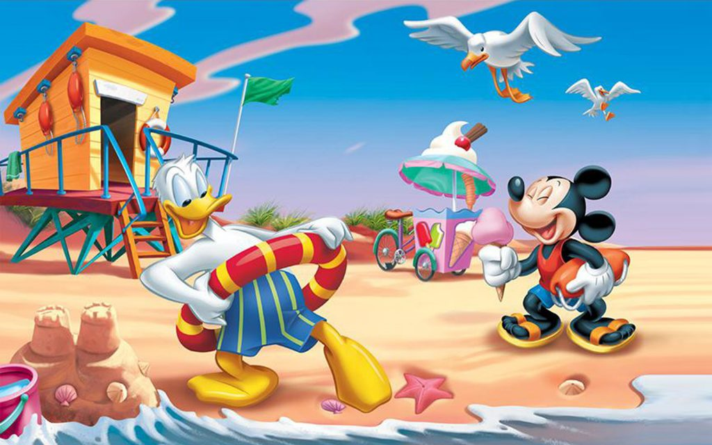 Donald-Duck-and-Mickey-Mouse-summer-vacation-beach-HD-Wallpaper-for-Mobile-phones-Tablet-and-PC-PIC-MCH059480-1024x640 Donald Duck Wallpaper For Mobile 30+