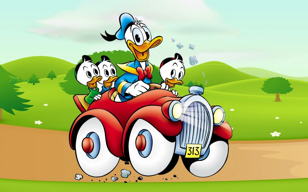 Donald-Duck-cartoon-image-driving-Car-country-road-Desktop-HD-Wallpapers-for-mobile-phones-and-comp-PIC-MCH059487-1024x640 Donald Duck Wallpaper For Mobile 30+