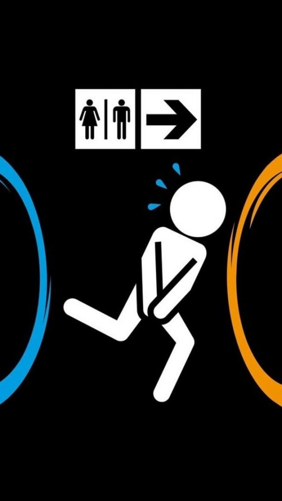Funny-Portal-Game-Run-Bathroom-iPhone-Wallpaper-PIC-MCH066916-577x1024 Funniest Wallpapers For Iphone 46+