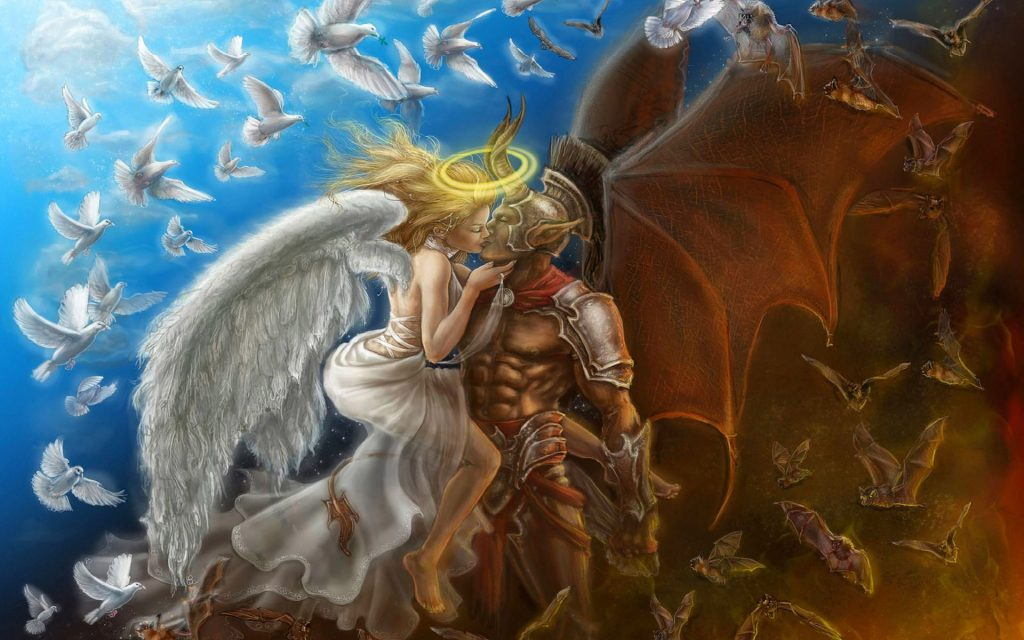 Love-between-angel-and-demon-fantasy-hd-wallpaper-x-PIC-MCH083310-1024x640 Wallpapers Demons Angels 32+
