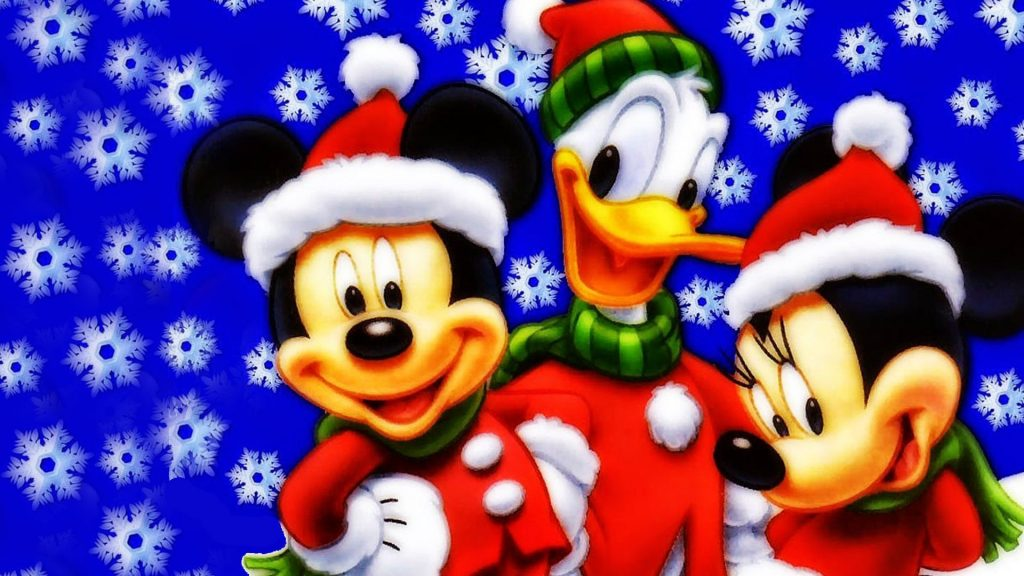 Mickey-Mouse-Donald-Duck-and-Minnie-Christmas-Wallpaper-Hd-x-PIC-MCH086078-1024x576 Wallpaper Donald Duck Christmas 38+