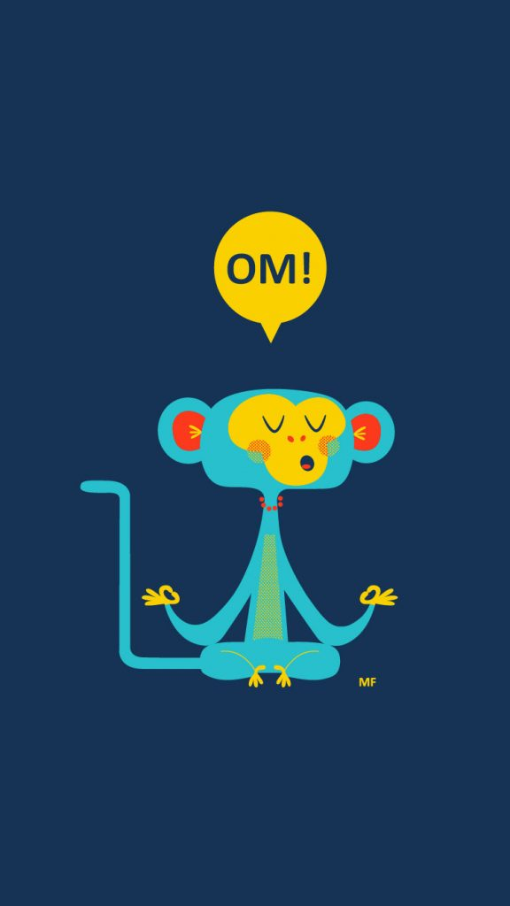 OM-Cool-Monkey-iPhone-Wallpaper-HD-PIC-MCH092170-576x1024 Hd Cartoon Wallpapers For Iphone 7 37+
