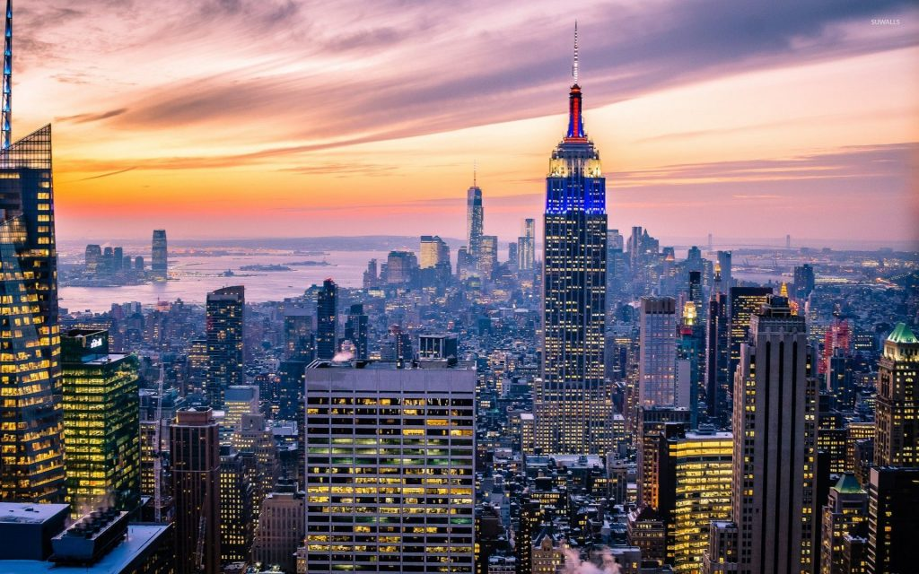 amazing-sunset-sky-above-new-york-city-x-PIC-MCH039846-1024x640 Wallpaper New York City 33+