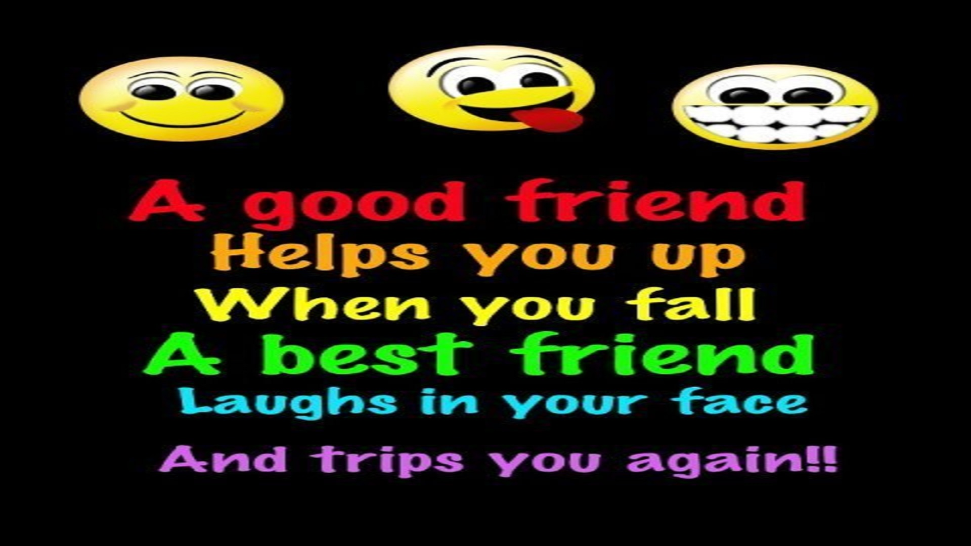 Best Friends Friends Funny Life Quotes Free Hd Wallpapers Pic