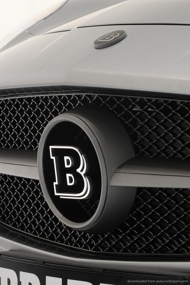 brabus-biturbo-mercedes-benz-logo-PIC-MCH049337 Mercedes Benz Logo Wallpaper For Iphone 30+
