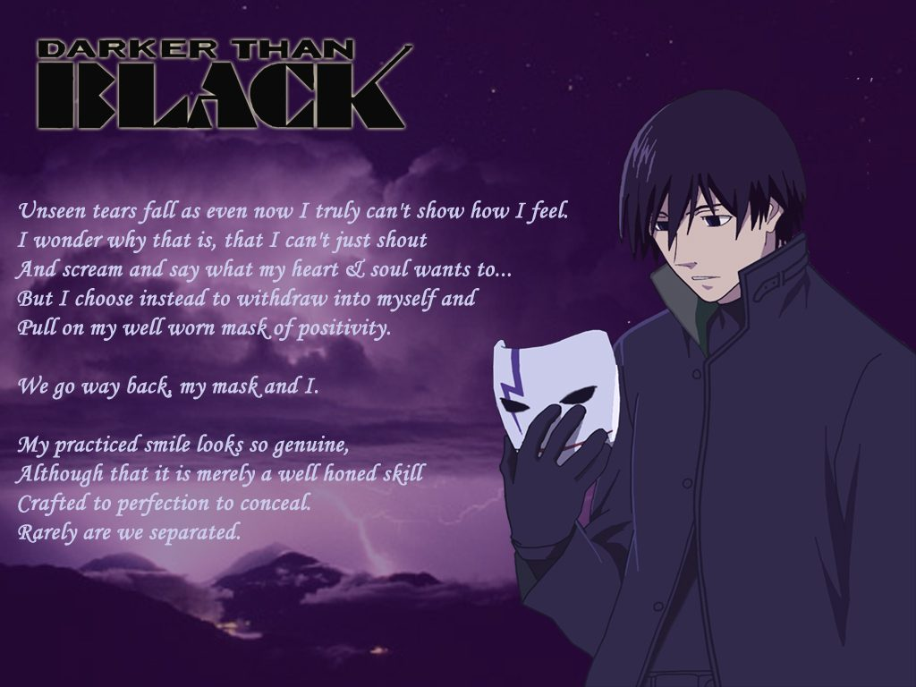 Darker Than Black Wallpaper Hei 32 Dzbc Org