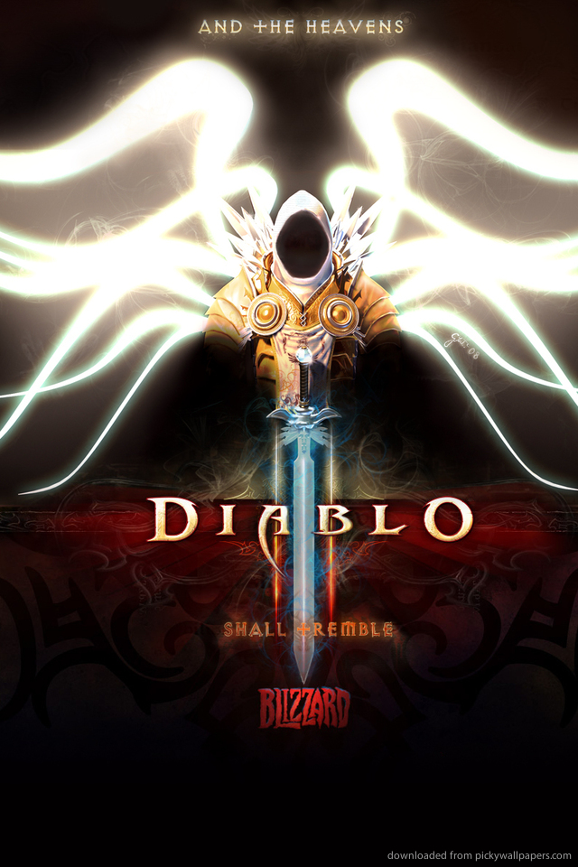 diablo-tyrael-PIC-MCH058716 Tyrael Wallpaper Iphone 25+