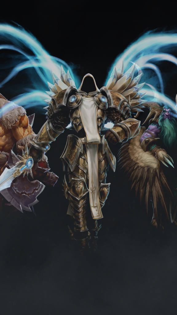 heroes-of-the-storm-tyrael-rexxar-malfurion-valla-PIC-MCH072927-576x1024 Tyrael Wallpaper Iphone 25+