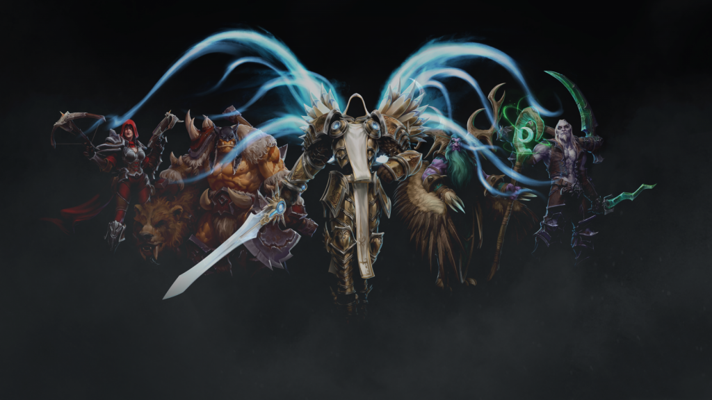 heroes-of-the-storm-tyrael-rexxar-malfurion-valla-PIC-MCH072929-1024x576 Tyrael Wallpaper 1600x900 27+