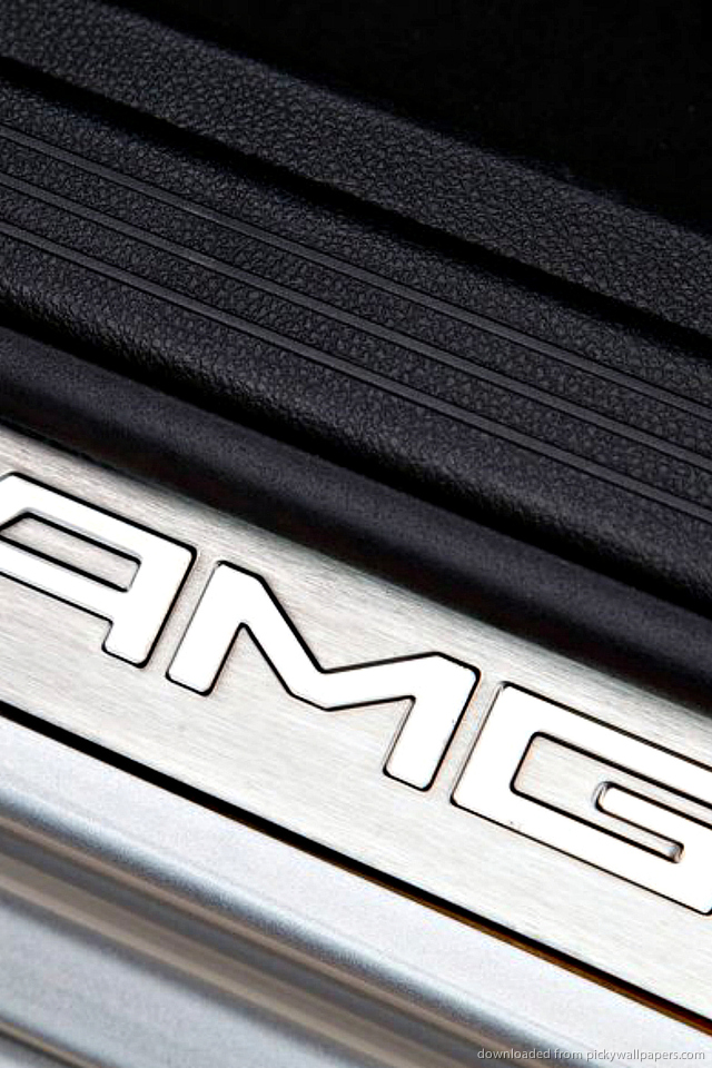 mercedes-benz-amg-steel-logo-PIC-MCH085483 Mercedes Benz Logo Wallpaper For Iphone 30+