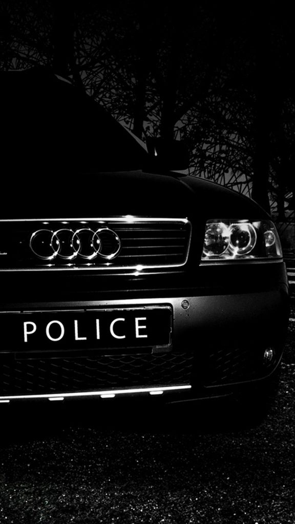 Audi-police-car-HD-Wallpaper-iPhone-plus-PIC-MCH042189-576x1024 Police Car Wallpapers For Free 46+
