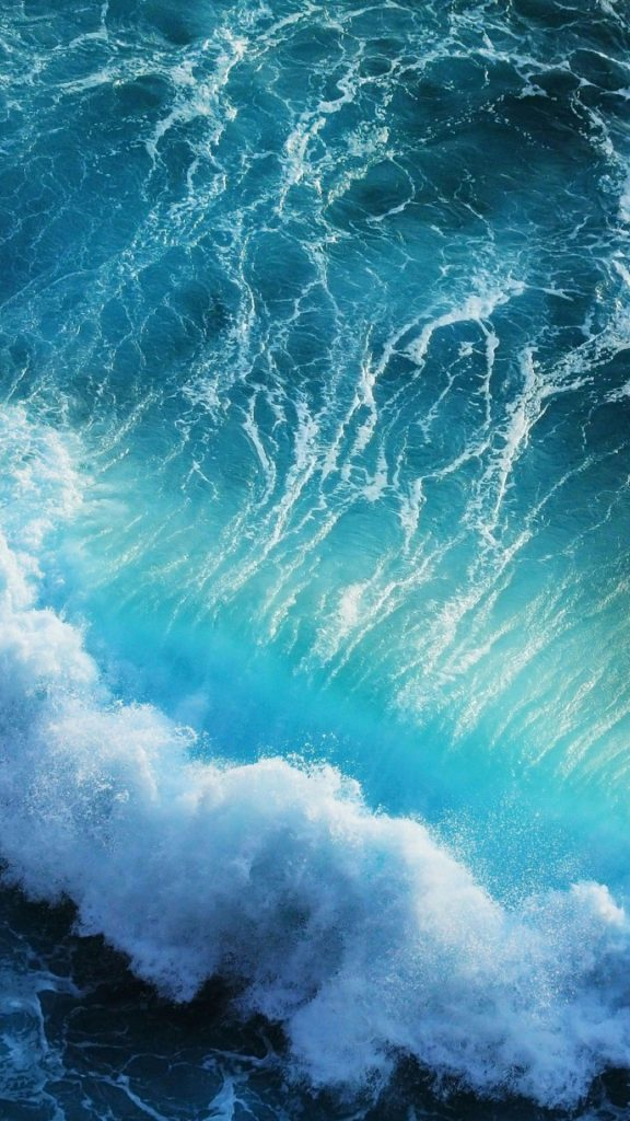 Blue-WavesiPhone-S-Plus-Wallpaper-x-px-PIC-MCH048415-576x1024 Ios Ocean Wallpaper 35+