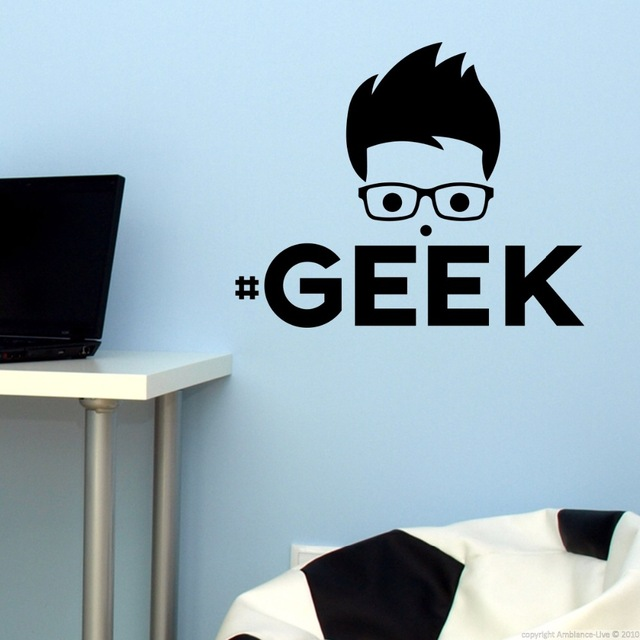 Geek-Cartoon-Wall-Stickers-Poster-Mural-Wall-Decals-Art-Home-Decor-House-Decoration-Wallpaper-for-L-PIC-MCH068088 Geek Wallpaper For Home 26+