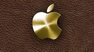 Gold Wallpaper Iphone Apple 27+