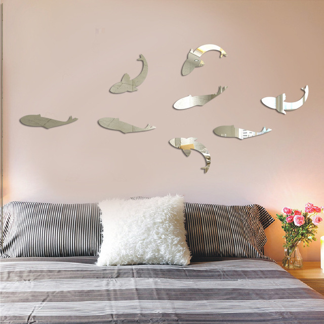 Mirror-Panel-Mural-Mirror-Squid-Wall-Stickers-Modern-Design-Acrylic-Mirror-Wall-Decal-Art-Stickers-PIC-MCH086655 Squid Wallpaper For Walls 14+