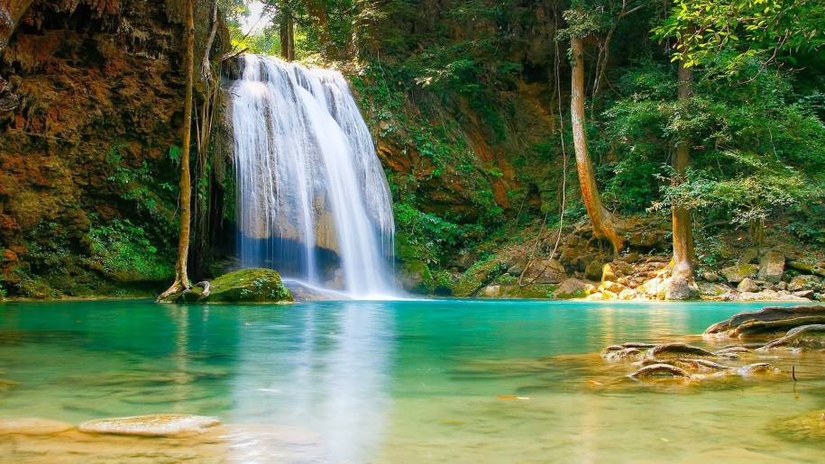 Nature-Falls-pool-with-turquoise-green-water-rock-coast-trees-HD-Desktop-Backgrounds-free-download-PIC-MCH088992 Hd Desktop Wallpapers For Pc 39+