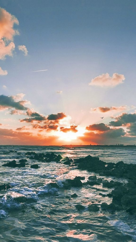 Nature-Ocean-Sunset-Landscape-iPhone-plus-wallpaper-PIC-MCH089073-576x1024 Ios Ocean Wallpaper 35+