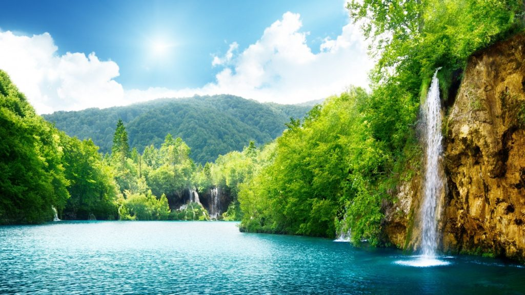 Nature-Waterfall-Summer-Lake-Trees-Full-HD-Desktop-Wallpapers-PIC-MCH089167-1024x576 Hd Desktop Wallpapers 2017 40+