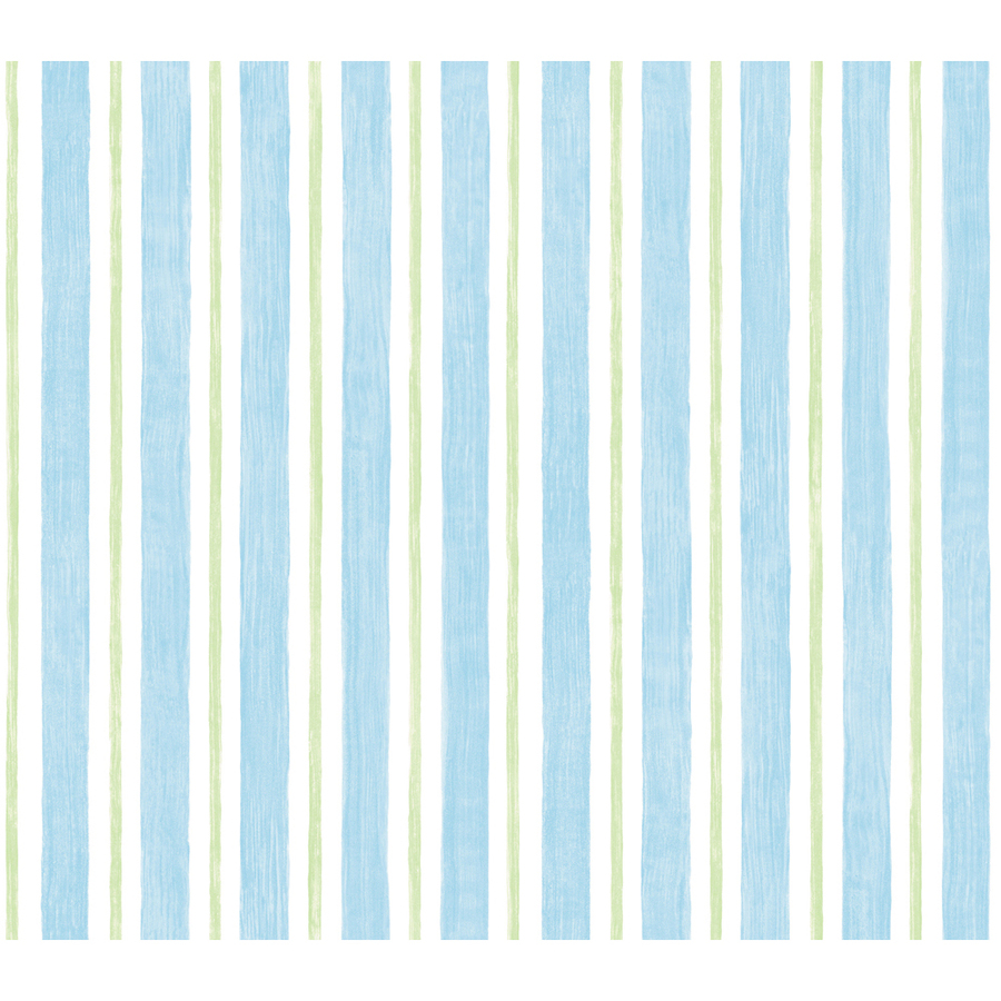 PIC-MCH0313 Blue Green Striped Wallpaper 16+