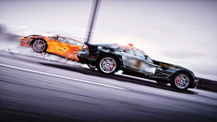 Racing-Animated-Cars-Desktop-Background-PIC-MCH097132 Police Car Wallpapers For Free 46+