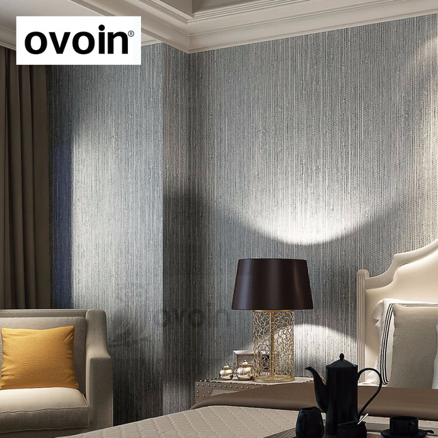 Silver-Metallic-Vinyl-Grasscloth-Wallpaper-Roll-Bedroom-Textures-PVC-Wall-Paper-Dining-Room-Hotel-S-PIC-MCH0101654 Thibaut Wallpaper Grcloth 18+