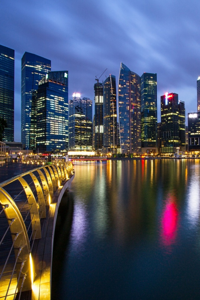 Singapore-City-l-PIC-MCH029601 City Hd Wallpaper For Mobile 31+