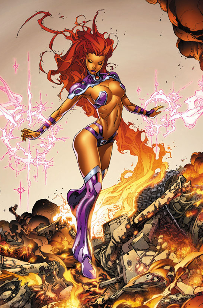 StarfireRedhoodandOutlaws-hot-game-and-movie-and-ect-characters-PIC-MCH0104063 Starfire Dc Wallpaper 21+