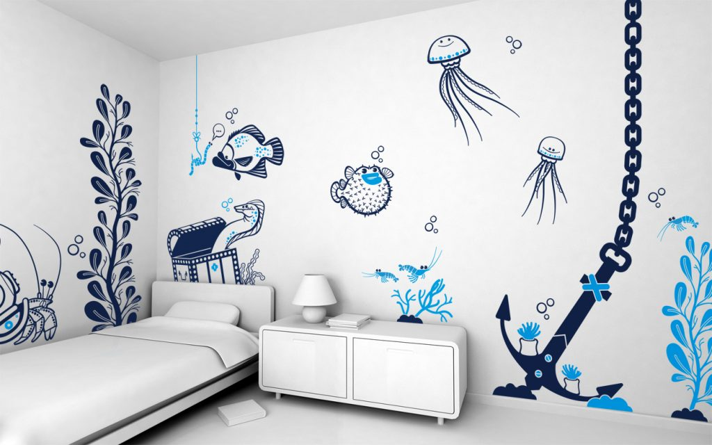 bedroom-accent-wall-paint-ideas-PIC-MCH045376-1024x640 Squid Wallpaper For Walls 14+