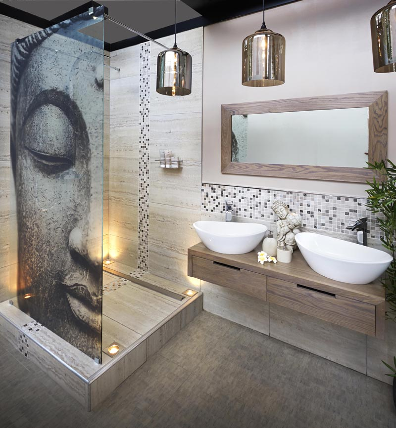 buddha-latest-bathroom-design-lamp-for-bottom-simple-mirror-wallpaper-sample-apply-prodigious-PIC-MCH049918 Wallpaper Trends For Bathrooms 14+