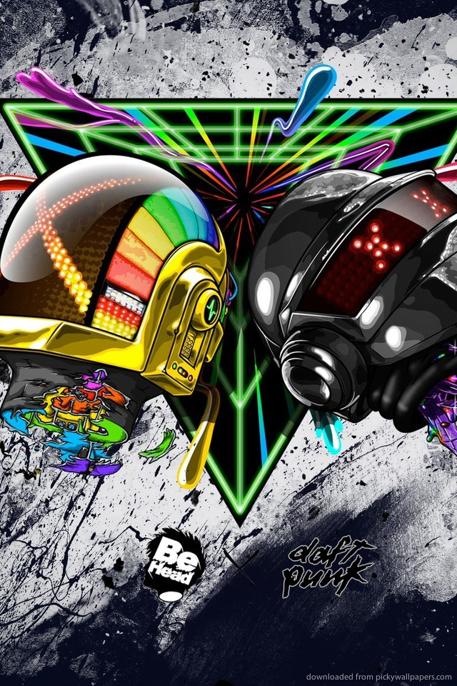 daft-punk-helmet-art-PIC-MCH056103 Punk Wallpapers For Iphone 36+
