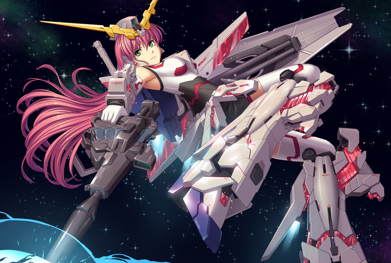 gundam-unicorn-widescreen-wallpaper-PIC-MCH070402 Gundam Unicorn Wallpaper Free 51+