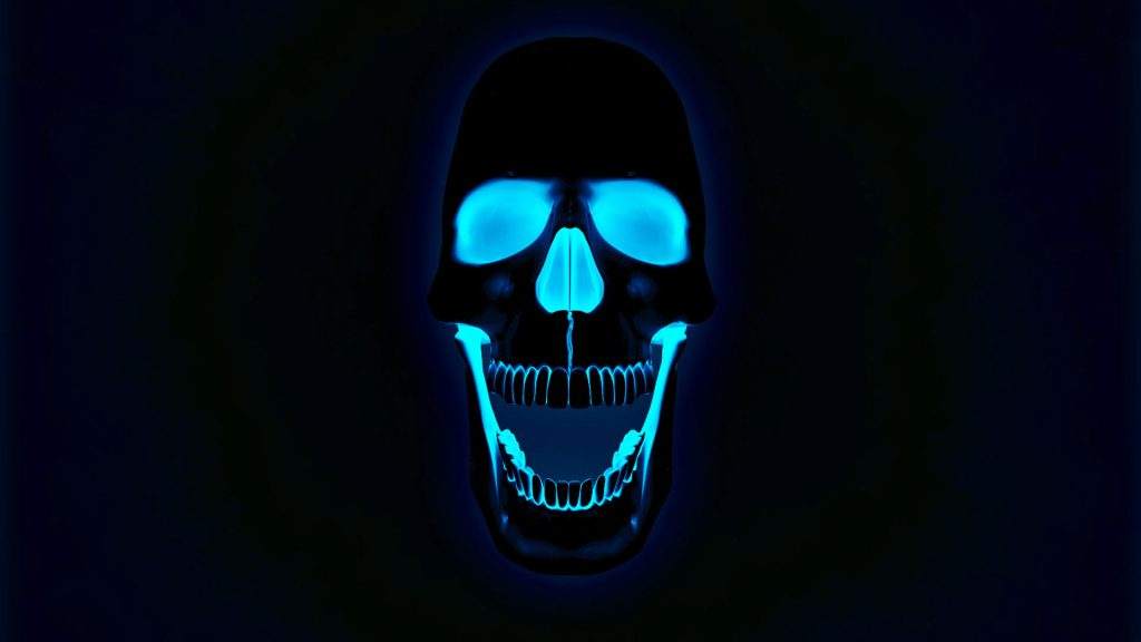 hd-pics-photos-neon-d-skull-x-ray-blue-desktop-background-wallpaper-PIC-MCH072186-1024x576 X Ray Skull Wallpaper 40+