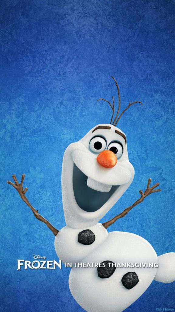 iPhone-Retina-Wallpaper-Christmas-Snowman-PIC-MCH076181-576x1024 Olaf Wallpaper Iphone 19+