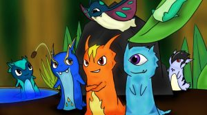 Slugterra Burpy Wallpaper 17+