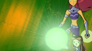 Starfire Ans Wallpaper 14+