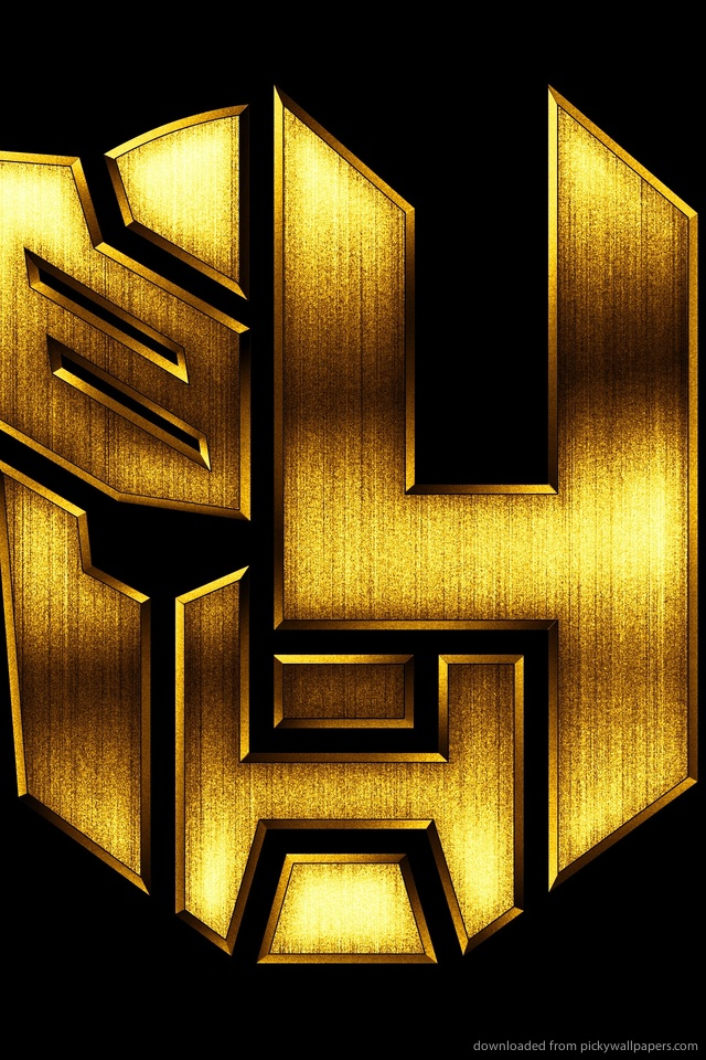 transformers-age-of-extinction-gold-logo-PIC-MCH0108063 Gold Wallpaper Iphone 4 38+