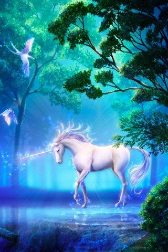 white-unicorn-horse-wallpaper-PIC-MCH0116350 Free Unicorn Wallpapers Cell Phones 15+