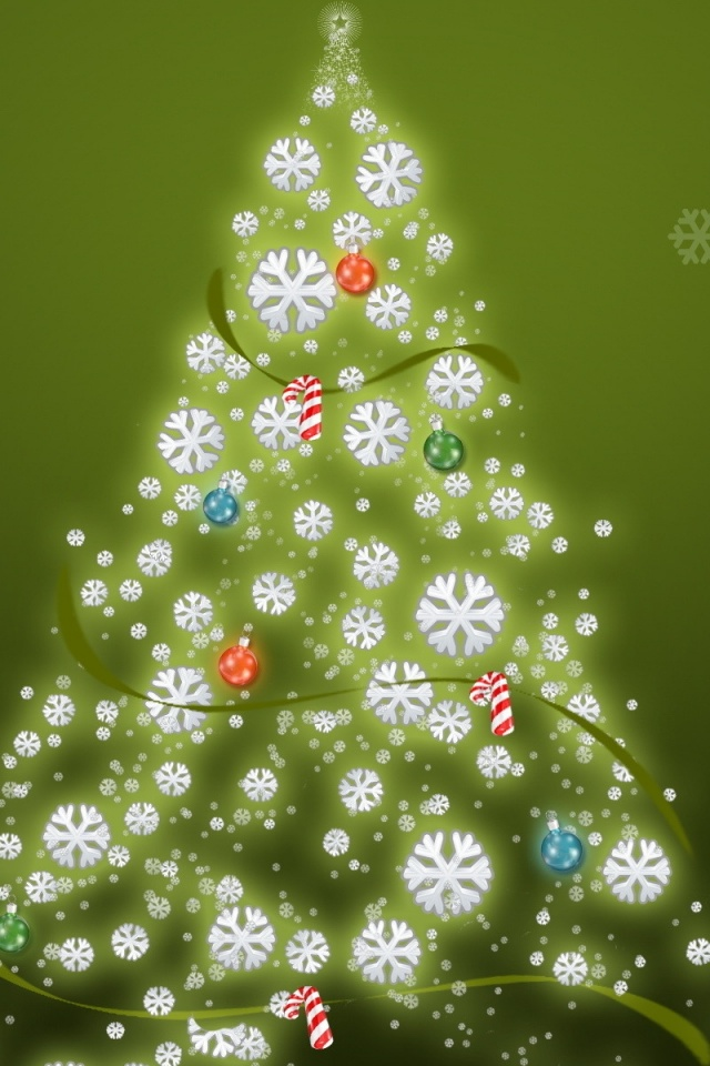 ws-Simple-christmas-tree-x-PIC-MCH0119500 Pine Tree Wallpaper Iphone 29+