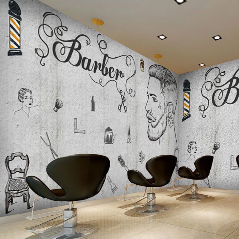 Custom Beauty D Wallpaper Pattern Brick Wall Murals Cafe Gym Lounges