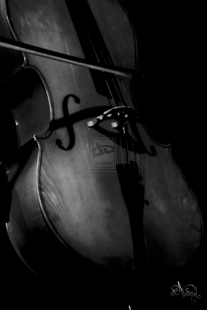 White Cello Wallpaper 7