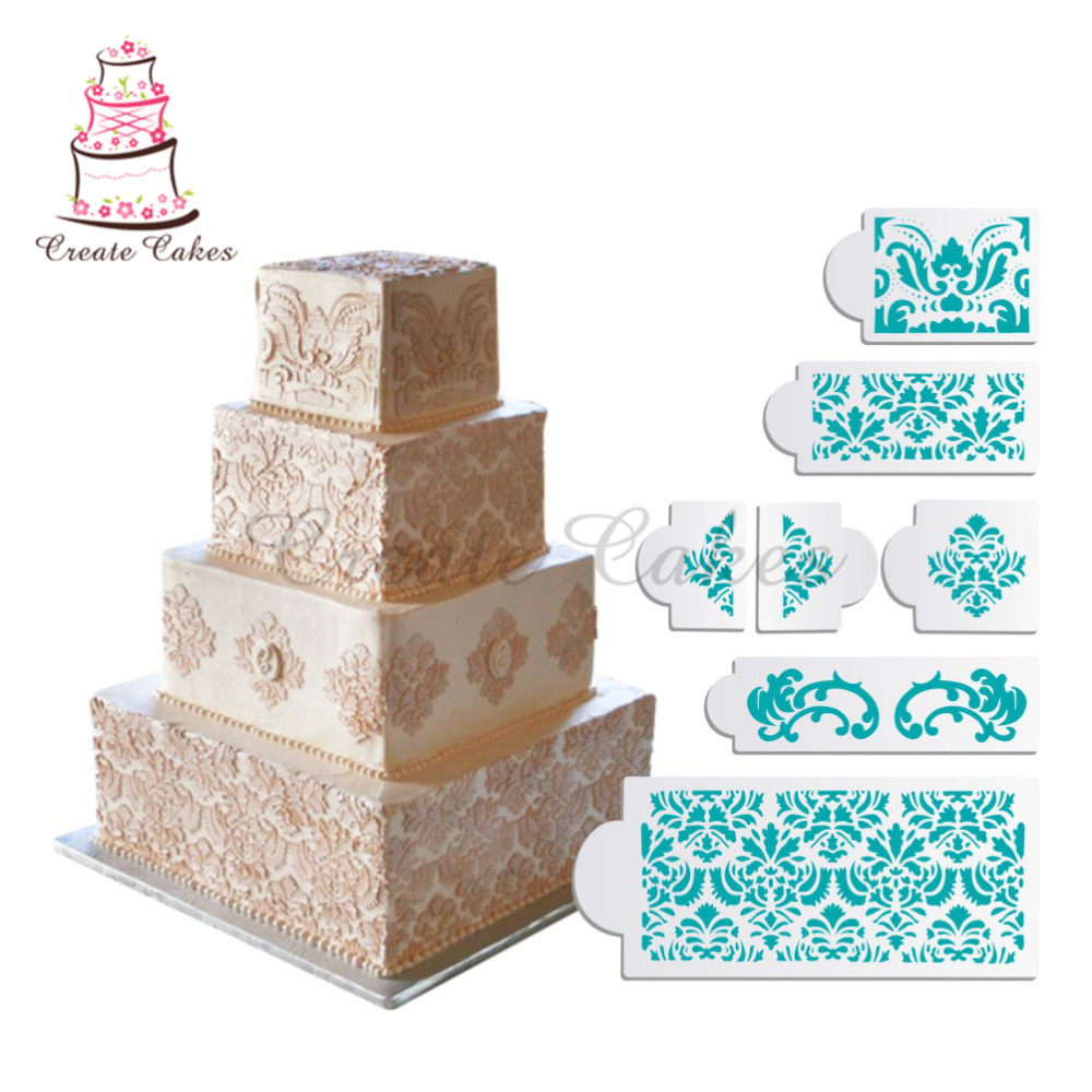 Martha-Stewart-s-Damask-Cake-Stencil-Set-Cake-Border-Decorative-Molds-Wedding-Cake-Stencil-DIY-Wall-PIC-MCH084800 Martha Stewart Wallpaper Borders 10+