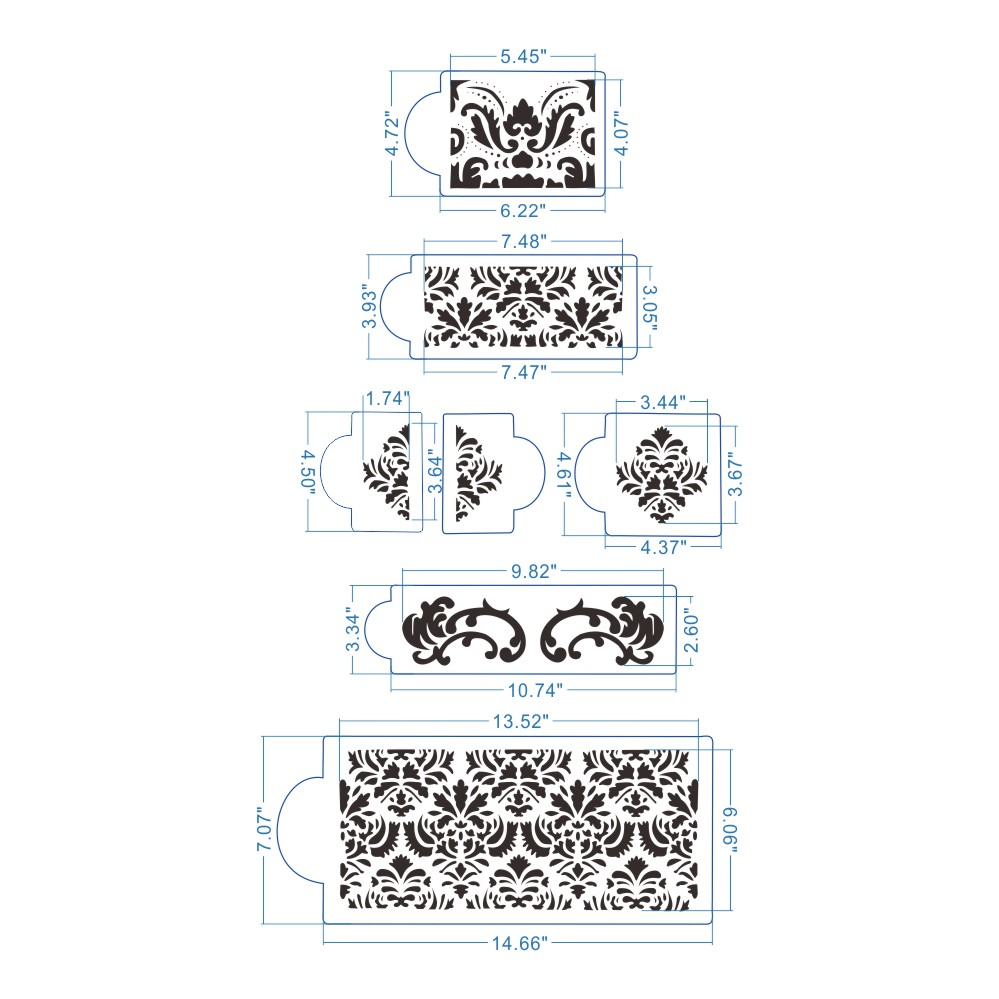 Martha-Stewart-s-Damask-Cake-Stencil-Set-Cake-Border-Decorative-Molds-Wedding-Cake-Stencil-DIY-Wall-PIC-MCH084803 Martha Stewart Wallpaper Borders 10+